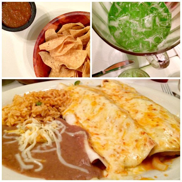 Mexican Dinner Collage