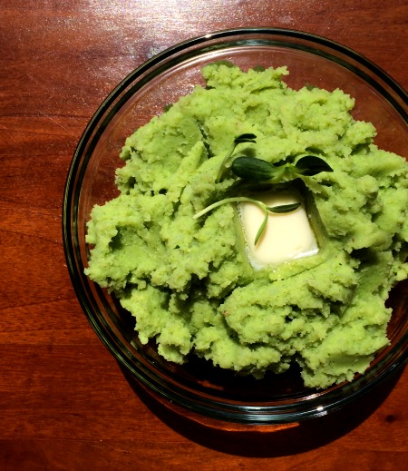 Pesto Mashed Potatoes B