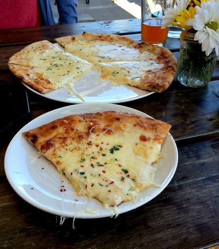 Humble Wine Bar Quatro Formaggio Pizza