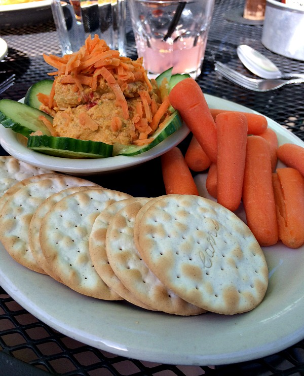 Hummus Plate at Seva