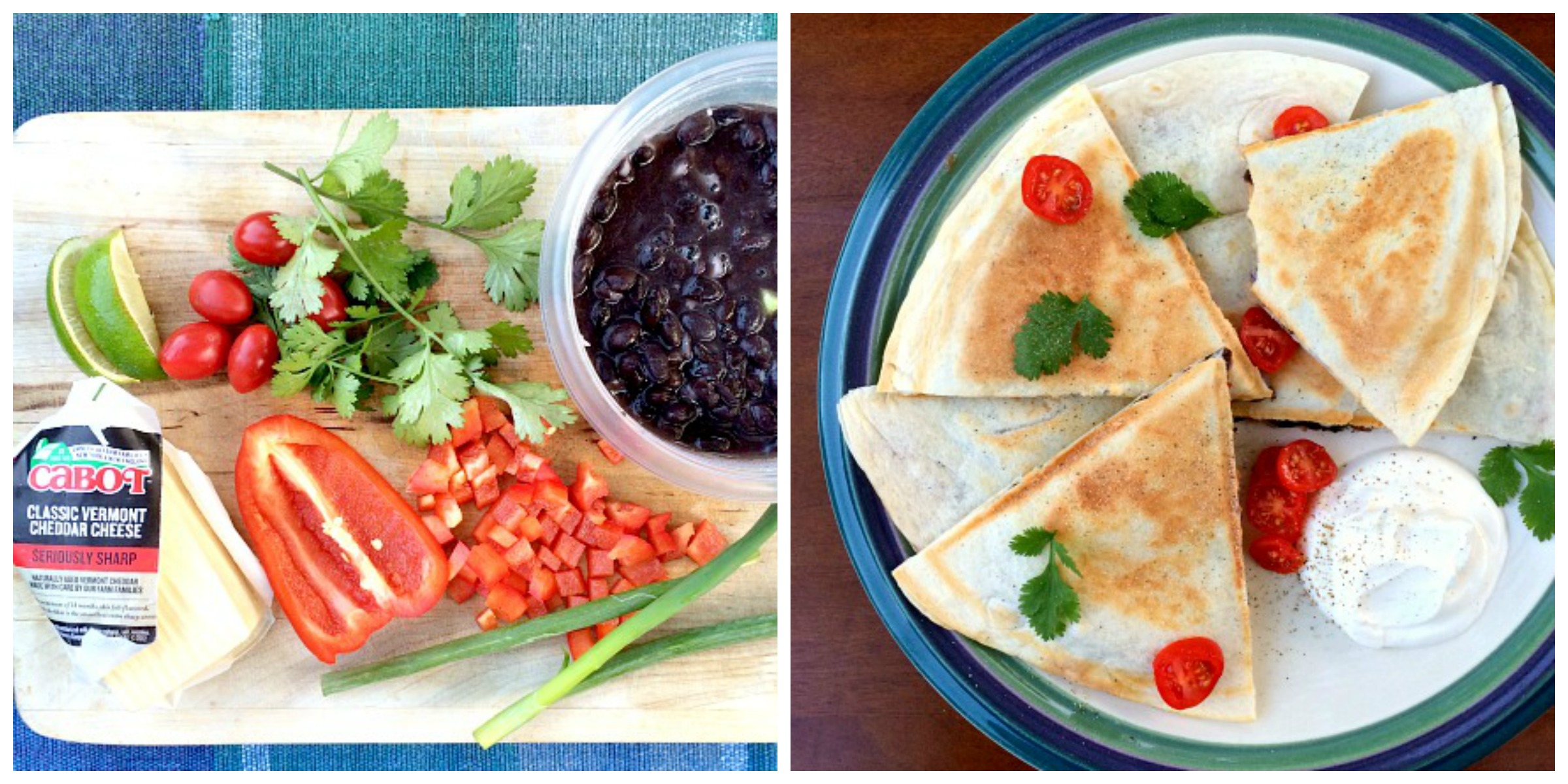 Quesadilla Collage