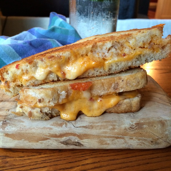 Grilled Cheese with Spicy Cheese