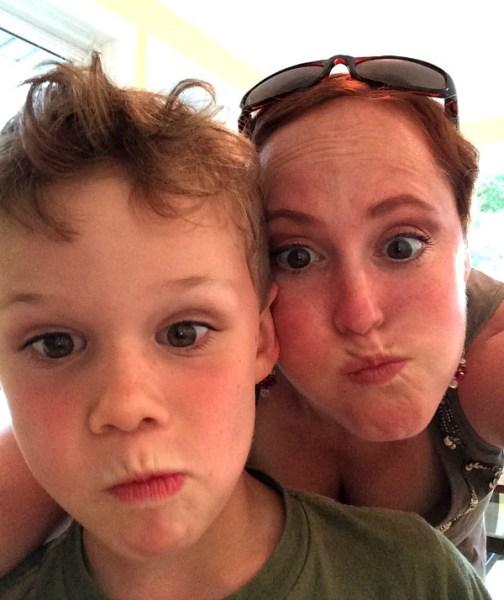 Max and Meg Summer 2014 Selfies