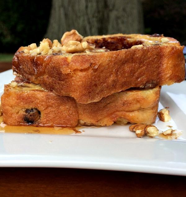 Cinnamon Raisin Bread French Toast 3