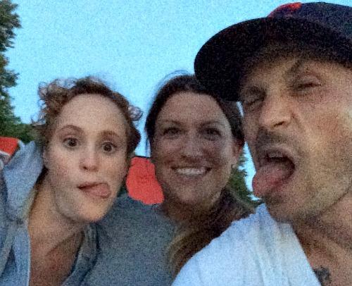 Meg, Lauren and Corey
