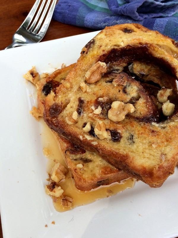 unCinnamon Raisin Bread French Toast 4