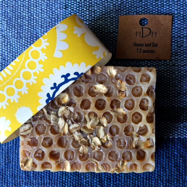 Half Dime Homestead Honey and Oat Soap
