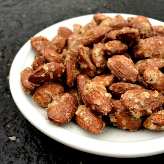 Candied Roasted Almonds