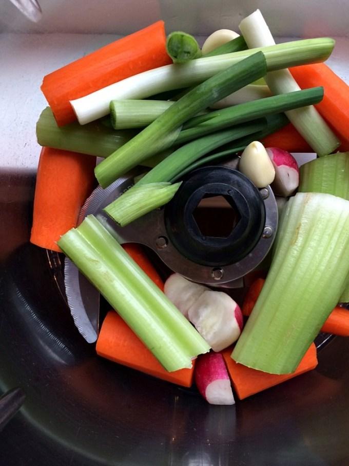 Healthy Garlic & Herb Dip