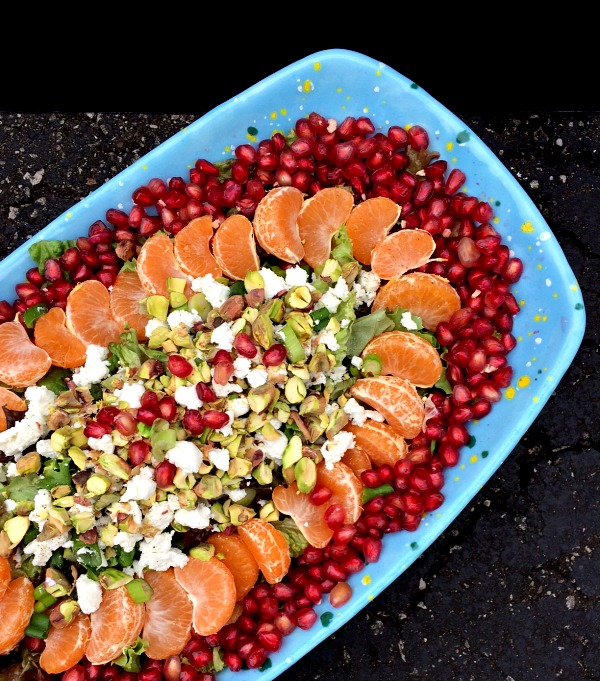 Pomegranate Citrus Salad B