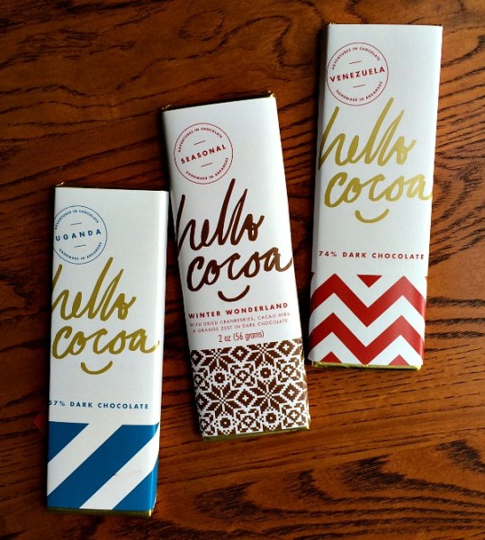 Hello Cocoa Cholate Bars