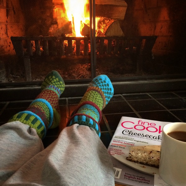 Meg Fireside with Coffee and Fine Cooking Magazine