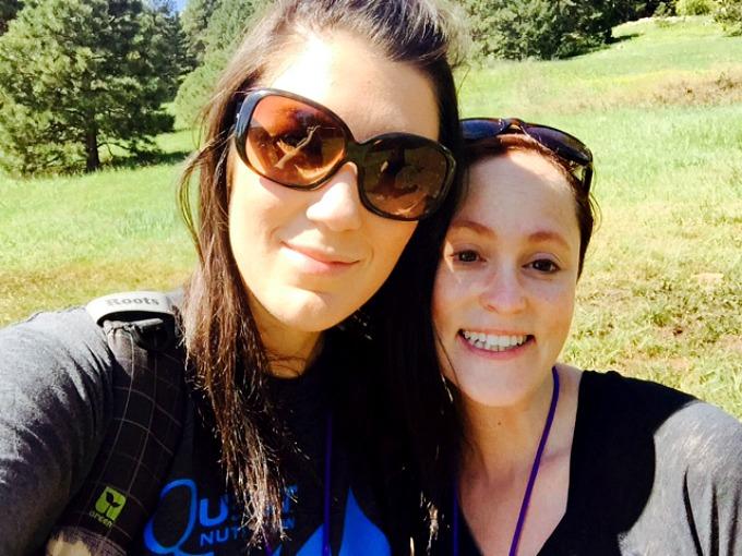 Amanda and Meg Blend 2015 Hike