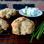 Blue Cheese and Chive Drop Biscuits