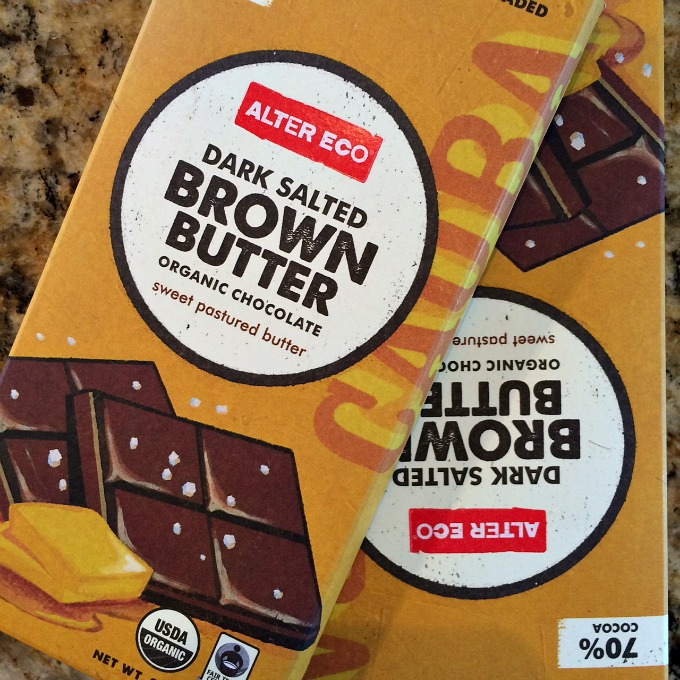Dark Salted Brown Butter Chocolate Bar