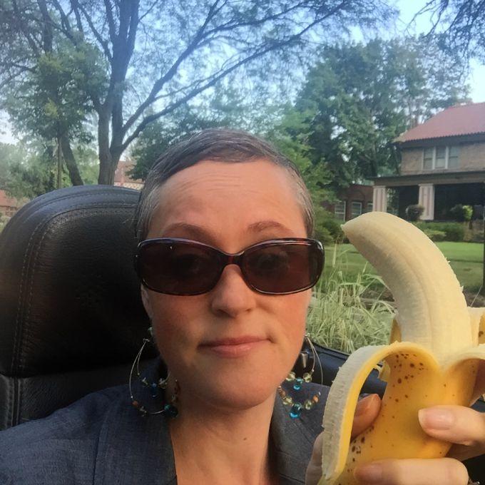 Public Banana in a Convertible