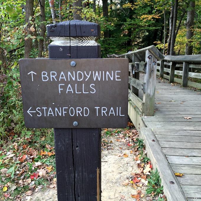 Brandywine Falls Hiking