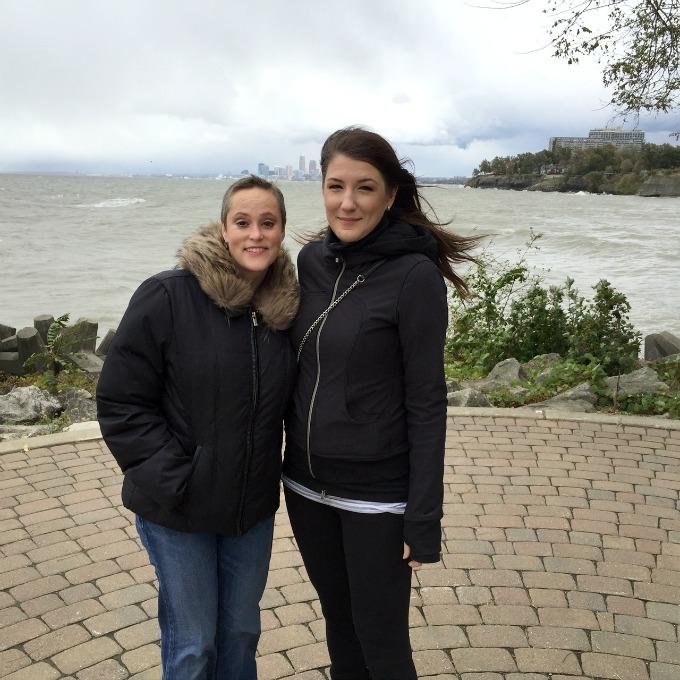 Meg and Amanda Windstorm