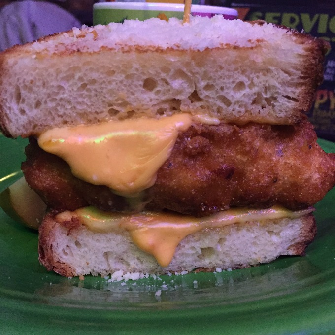 Mac & Cheese Grilled Cheese at Melt