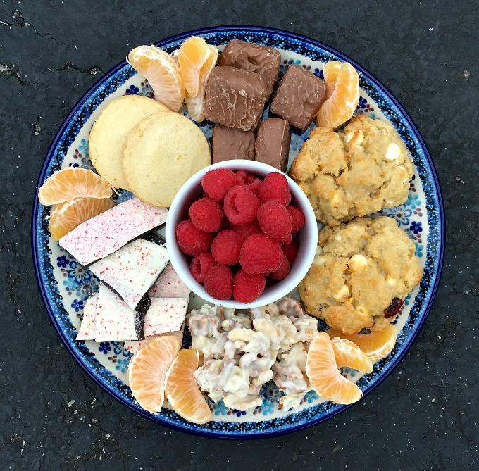 Christmas 2015 Dessert Plate