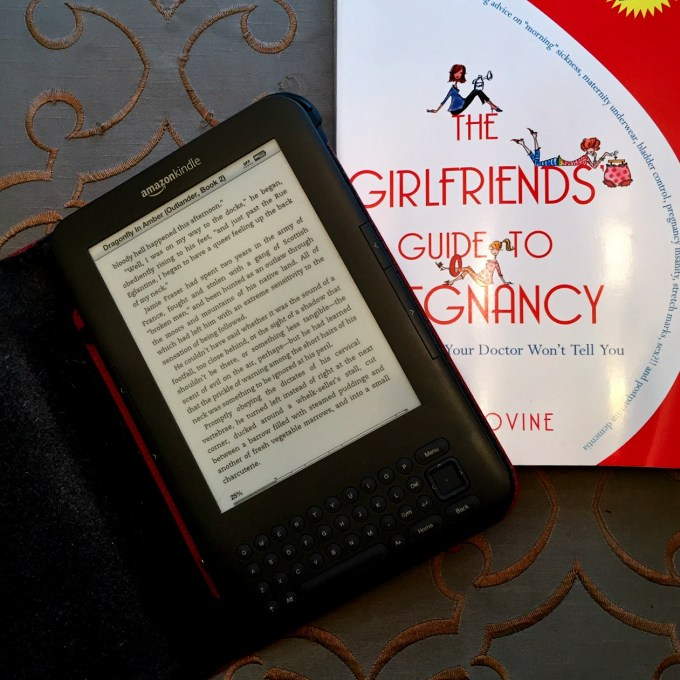 Drgaonfly in Amber (Outlander Series) and Girlfriends Guide to Pregnancy