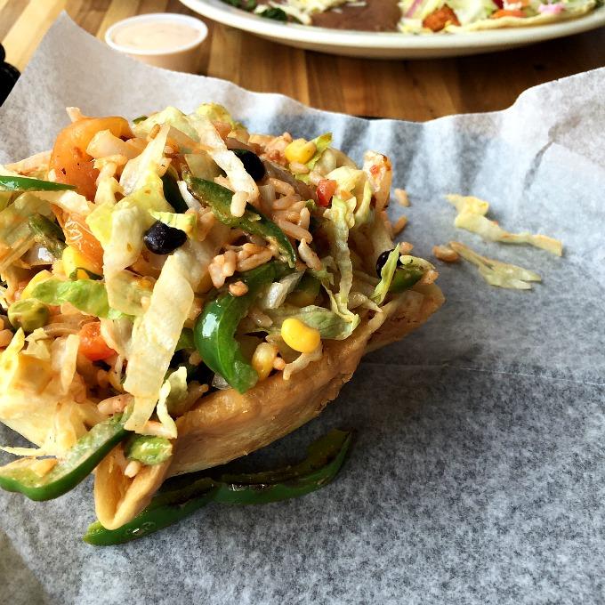 Taco Salad Lunch at Camino