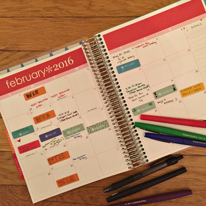 Februaru 2016 Planner - Lists - To Do