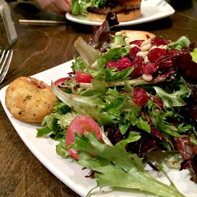 Giant Salad at Sweet Melissa