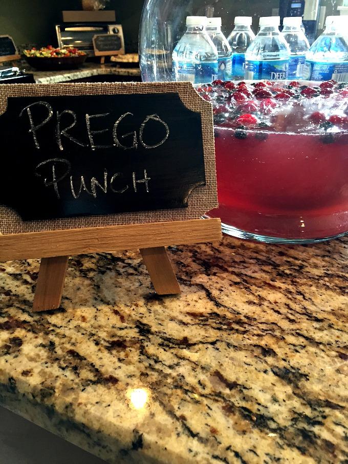Baby Shower - Prego Punch