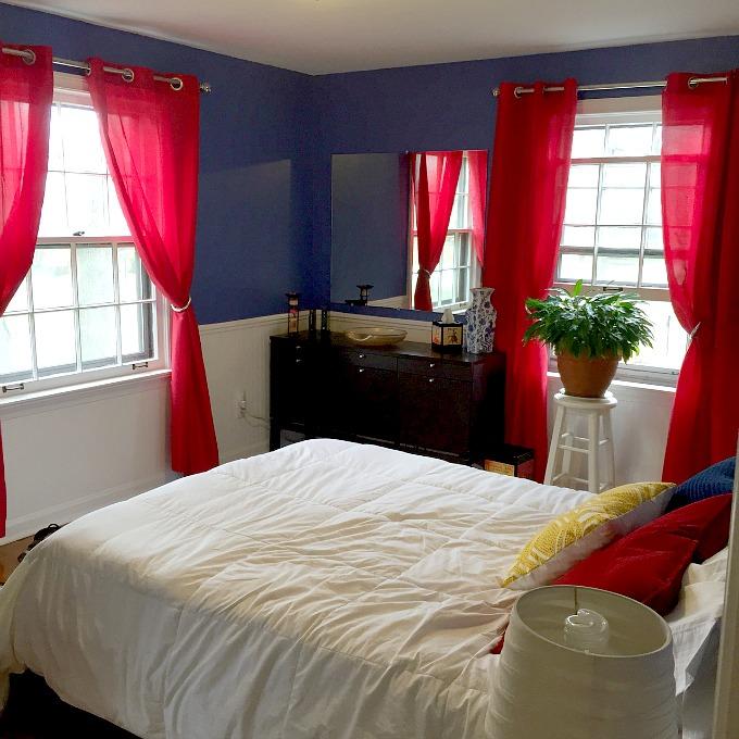 Guest Bedroom Window Treatments