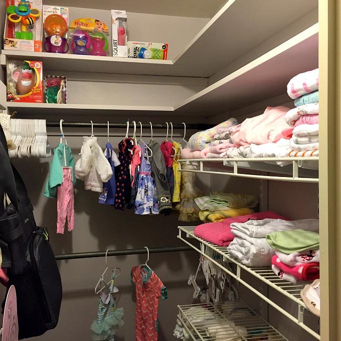 Nursery - Closet and Clothes