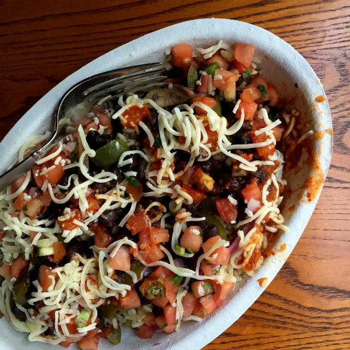 Chipotle Vegetarian Burrito Bowl