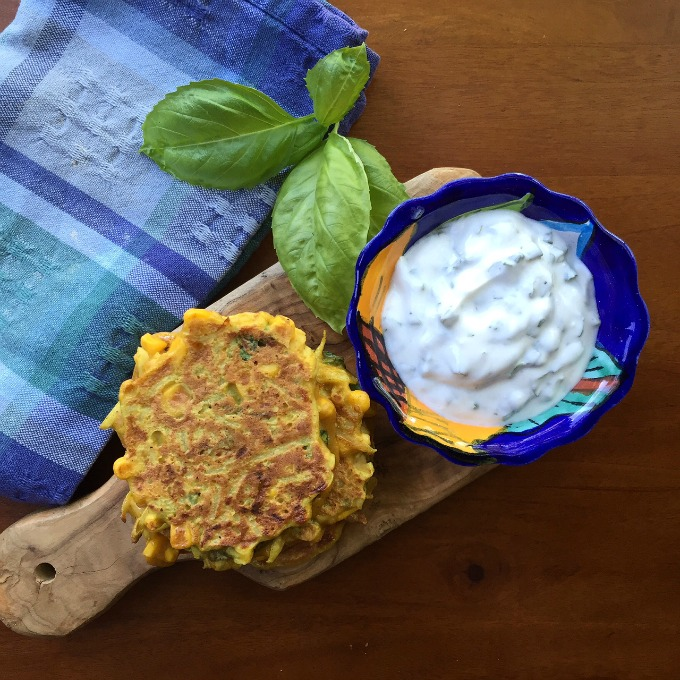 Kohlrabi Corn Fritters from Eating Well