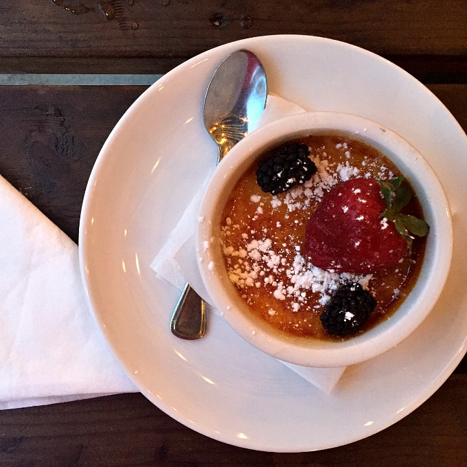 Creme Brulee at Humble