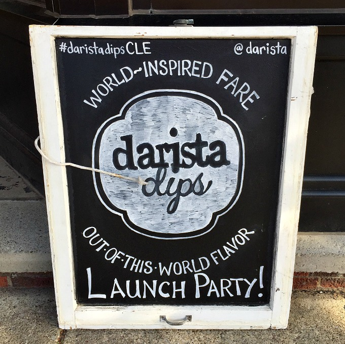 Darista Dips Hummus Launch Party