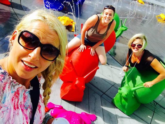 Lucie, Meg & Laura - Summer 2016 - Cleveland