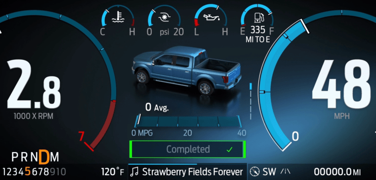 This is what Ford's new F-150 display and infotainment system looks like