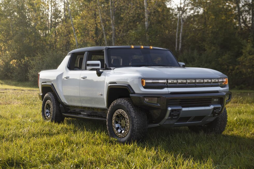 American excess is back with the 1,000hp 2022 GMC Hummer EV truck