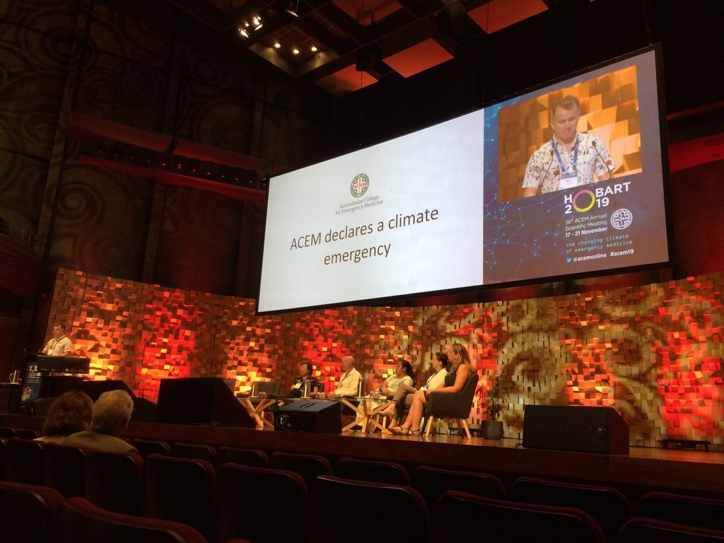 Australia   Australian medical colleges to declare climate change a medical emergency