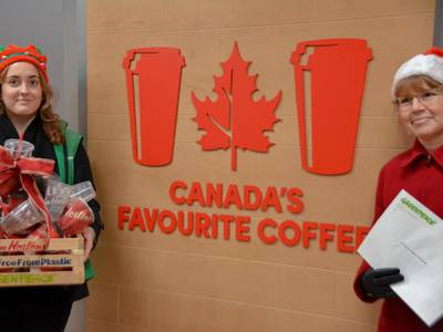 Tim Horton's annual contest just got a lot greener