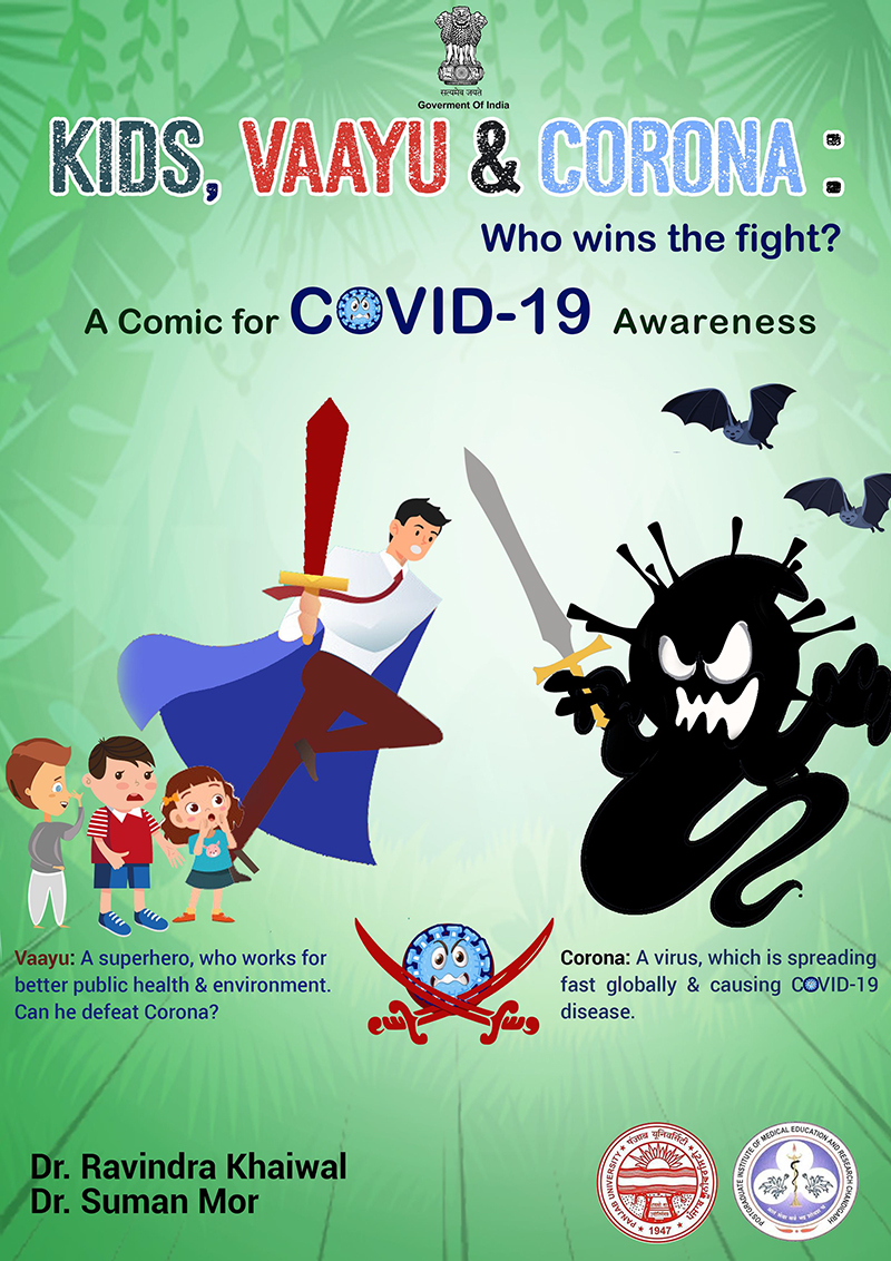 Educative online comic book on COVID-19 is captivating audiences