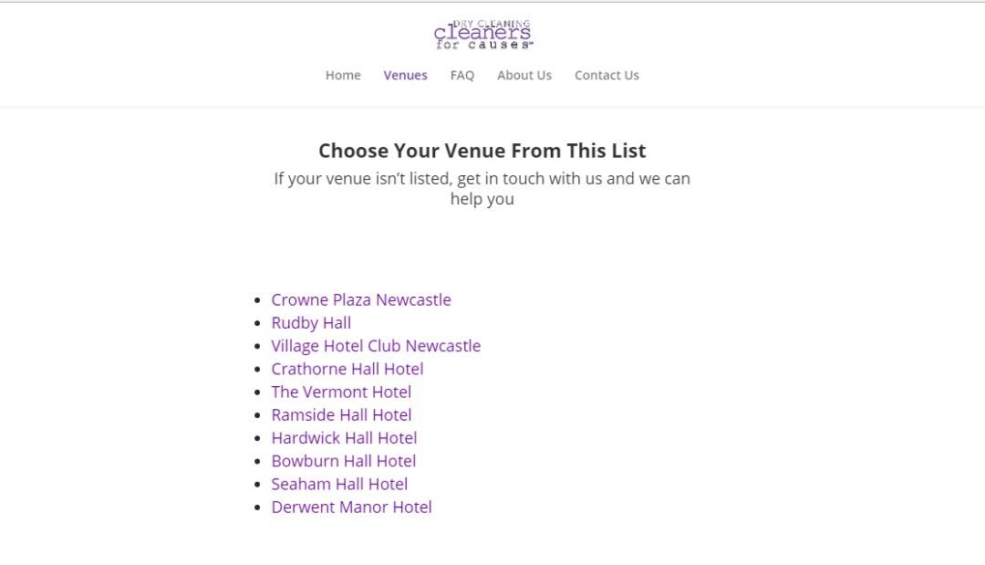 venue screenshot