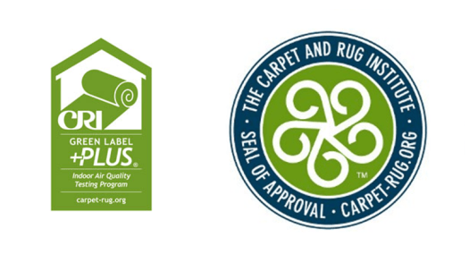 Green Label Program From Cri Added To Epa Fed Guidelines Cleanfax. Carpet A Rug Institutes Cri Green Label Plus Logos