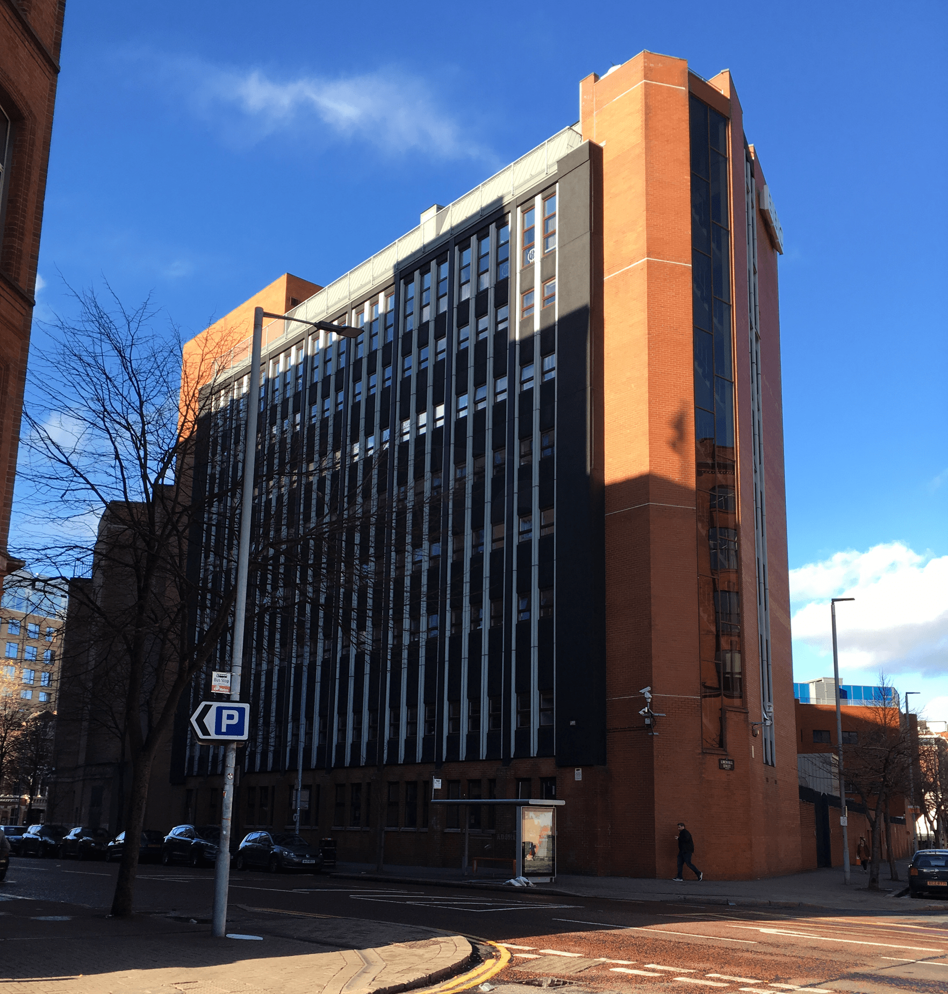 PICTURED: BBC Broadcasting House, Belfast (11th November 2018). This is the front of the Office Block.