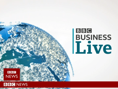 PICTURED: still from the BBC Business Live opening titles.