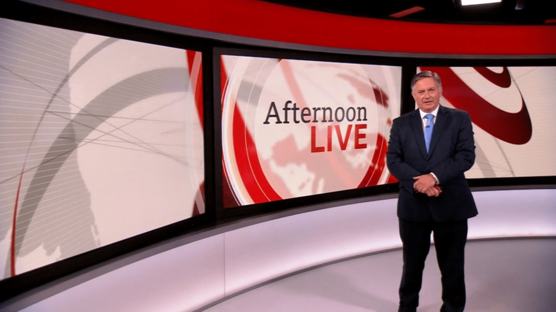 PICTURED: Afternoon Live studio presentation. Presenter: Simon McCoy.