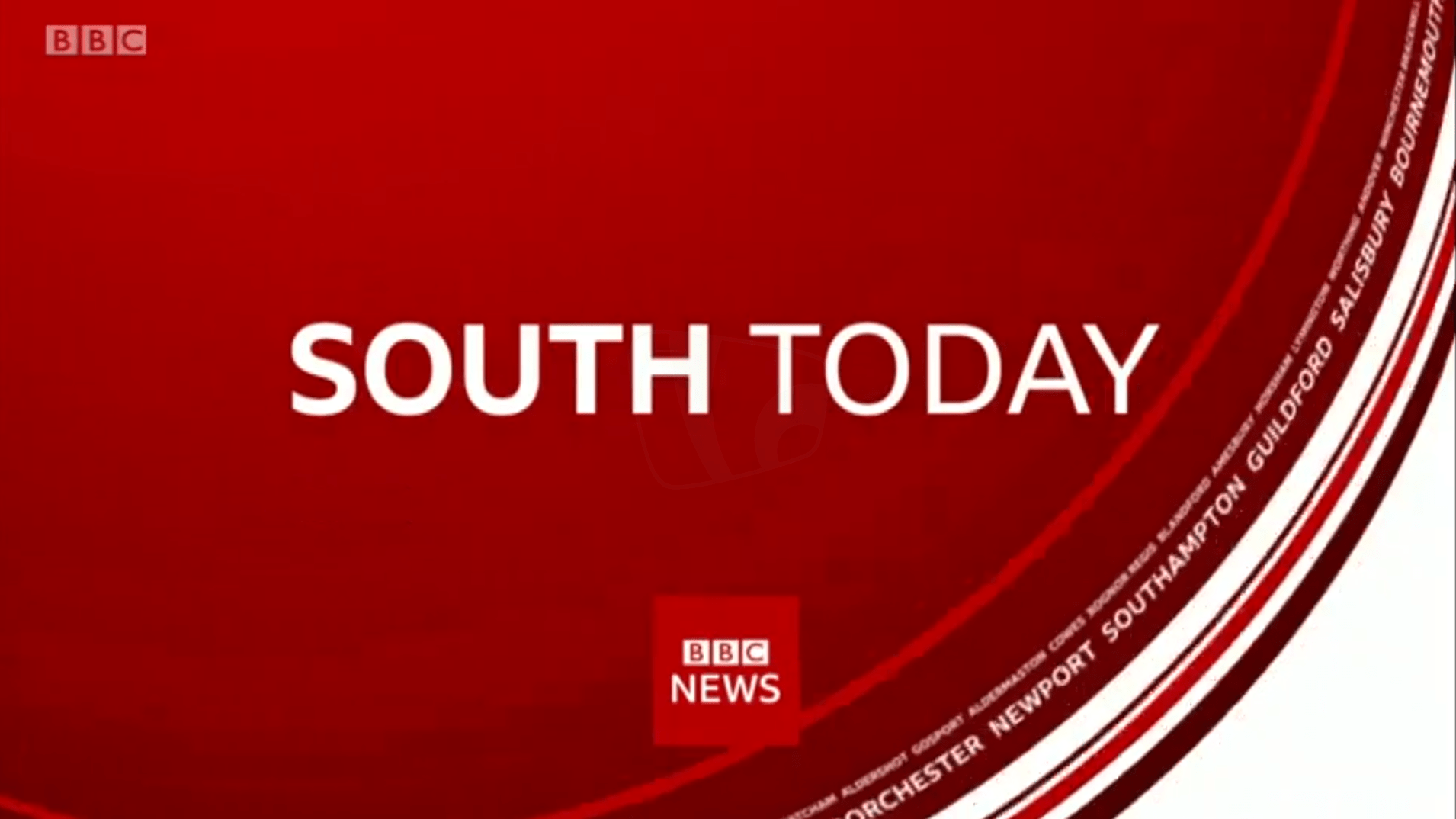 PICTURED: BBC South Today opening titles.