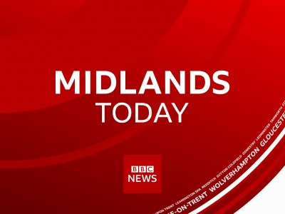 PICTURED: a still from the BBC Midlands Today opening titles.