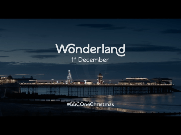 PICTURED: BBC One promotional trail - Christmas 2018.