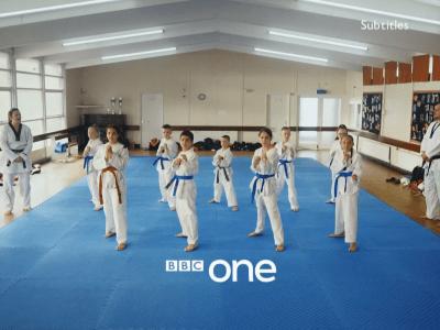 PICTURED: BBC One ident - Taekwondo.